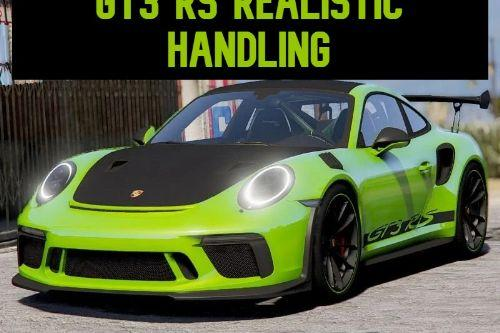 Porche 911 GT3 RS Realistic Handling