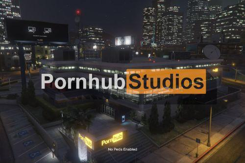 Pornhub Studios [SP | FiveM] - Weazel News replacement