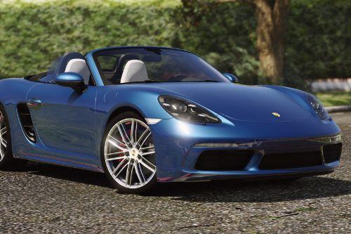 Porsche 718 Boxster S [Add-On / Replace]