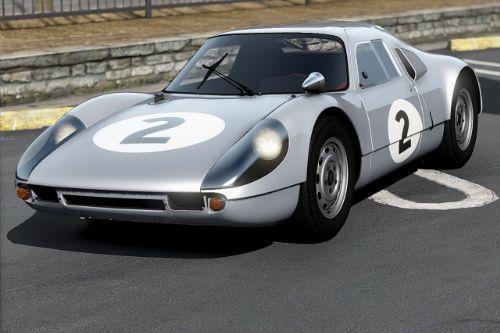 Porsche 904 Carrera GTS '64 [Add-On | Template | Extras]