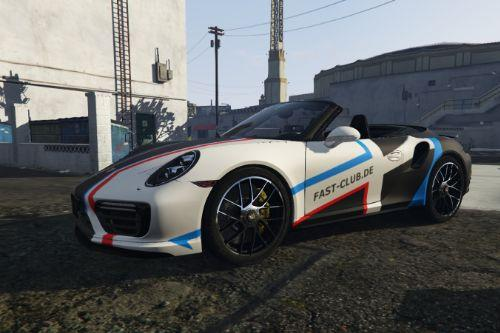Porsche 911 (991.2) Turbo S Convertible - Fastclub Design [Paintjob]