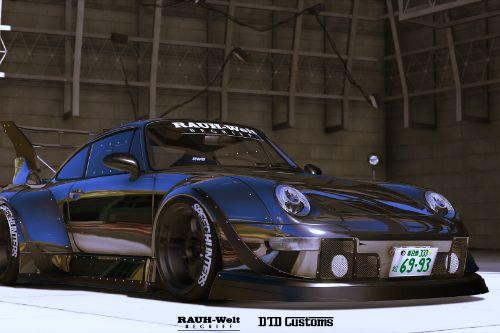 Porsche 911-993 RWB [Add-On / Replace]