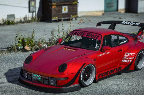 "Porsche 911 (993) RWB ""Rotana"" 1993 [Add-On / Replace]"