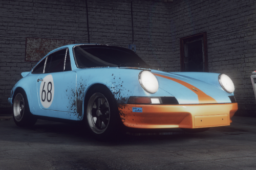 [1973 Porsche Carrera (RS) NEED FOR SPEED livery