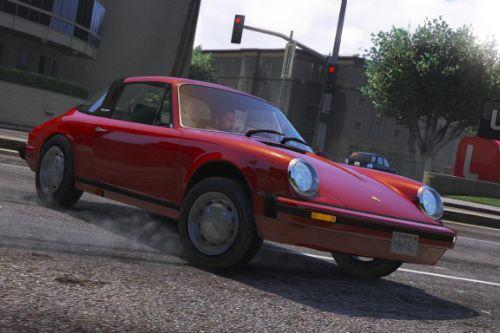 Porsche 911 Carrera4 Targa 964 [Add-On / Replace]