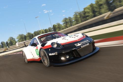 Porsche 911 GT3 R Realistic Handling