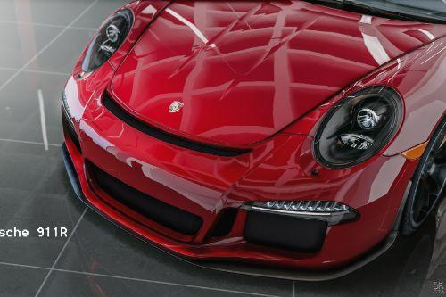 Porsche 911 R 2016 [Add-On / Replace / Auto Spoiler]