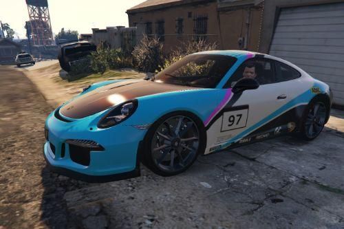 Porsche 911 R GT3 - Modern Racing Design [Paintjob]