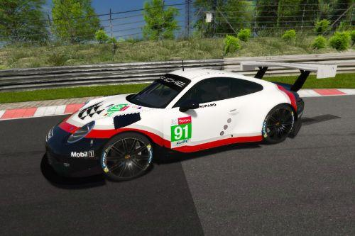 Porsche 911 RSR liveries for Porsche 911 GT3 R