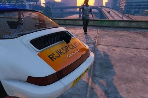 Porsche 911 Targa Rijkspolitie [Add-On / Replace]