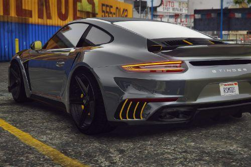 Porsche 911 Stinger GTR TopCar 2018 [Add-On / FiveM]
