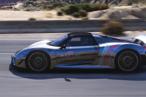 8 Paintjobs for se7enmoon's Porsche 918 Spyder