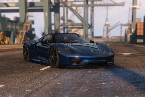 Handling for [YCA]Se7enMoon's Porsche 918 Spyder