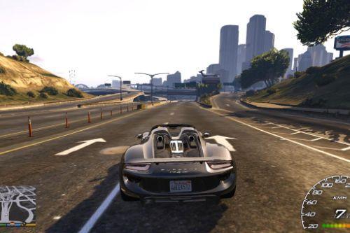 Porsche 918 Spyder - Handling