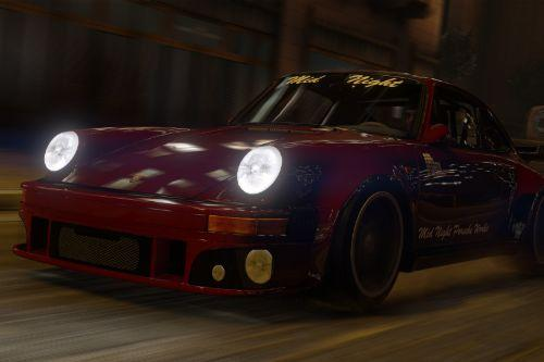 Porsche 930 Midnight Club [Add-On | Replace]