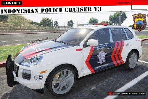 Porsche Cayenne - Indonesian Police Cruiser V3 | Polisi Indonesia