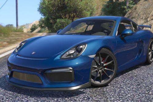 Porsche Cayman GT4 2016 [Tuning]