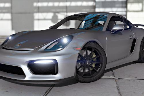 2016 Porsche Cayman GT4 [Add-On]