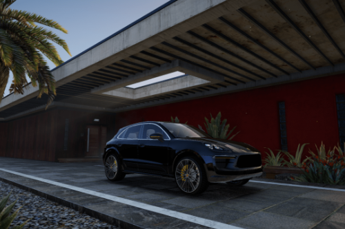 Porsche Macan Turbo 2019 [Add-On / Replace]