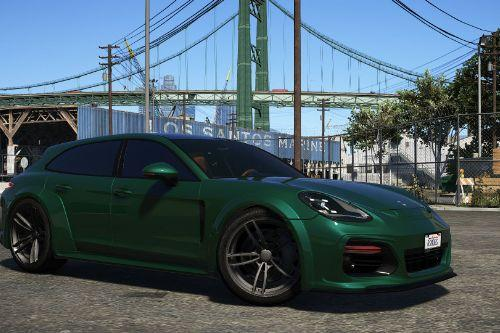 Porsche Panamera Sport Turismo (Techart GrandGT)  [Add-On]