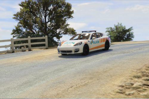 Porsche Panamera Swiss - GE Police