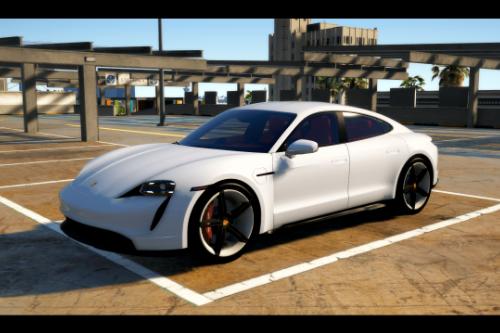 Porsche Taycan Turbo S [Add-On / FiveM]
