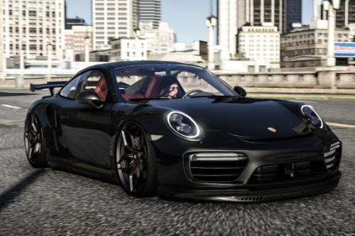 Porsche Turbo S Moshammer 2015 [ Add-On | Animated Spoiler | Template]