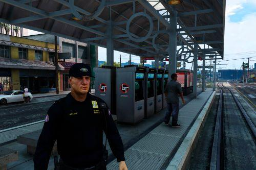 Portland Transit Police ped