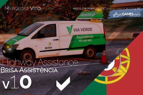 Portuguese Brisa - Highway Assistance - Mercedes-Benz Vito [Add-On]
