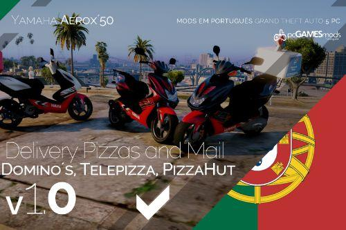 Portuguese Delivery Pizzas and Mail - Yamaha Aerox´50 [Replace]