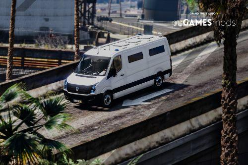 Portuguese DGRSP - Transportation Of Prisoners - Volkswagen Crafter Low Roof Long [ AddOn ]