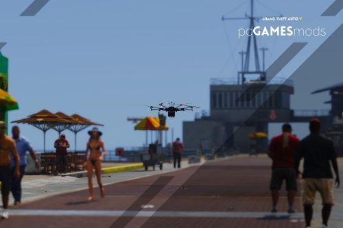 Portuguese Directorate-General for Health - stay at home covid-19 - drone dji matrice 600 [ AddOn ]