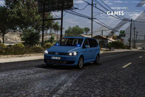 Portuguese GISP - Support Transportation Of Prisoners - Volkswagen Touran [ AddOn ]