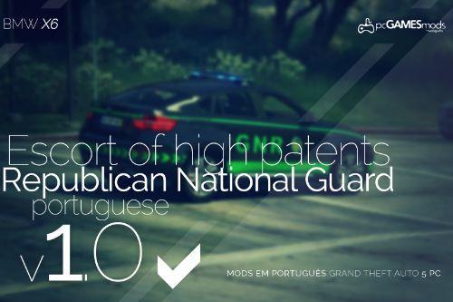 Portuguese Republican National Guard - BMW X6 [Add-On]