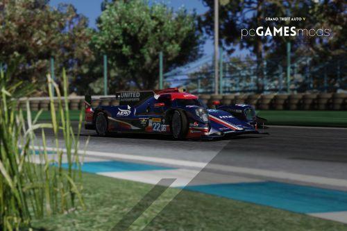 Portuguese Ligier JS P2 - 24H Le Mans - Filipe Albuquerque [Add-On]