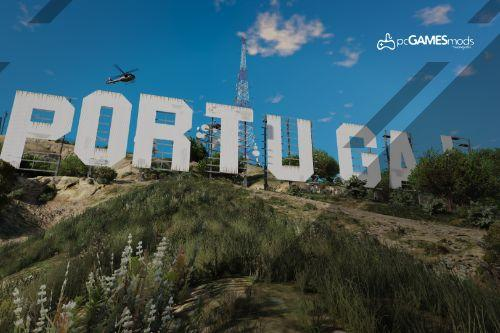 Portuguese - Logo Vinewood to Portugal [Replace]