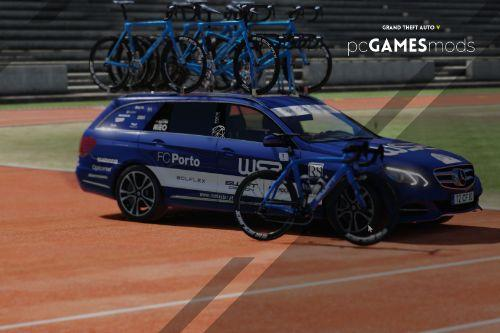 Portuguese - Mercedes Benz E-Class T-Model - W52 Fc Porto Tour of Portugal on Bicycle  [ AddOn ]