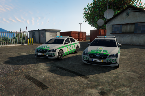 Portuguese National Republican Guard  SKODA SUPERB (SKIN)