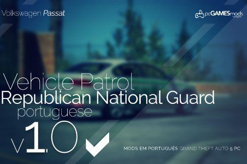 Portuguese National Republican Guard - Volkswagen Passat [Replace]