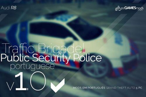 Portuguese Public Security Police - Audi R8 [Add-On]