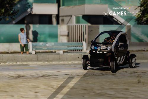 Portuguese Public Security Police - Balnear Season Patrol - Renault Twizy [ AddOn / Refletive ]