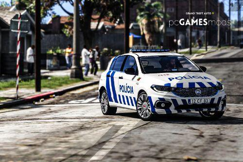 Portuguese Public Security Police - patrol division - Fiat Tipo  [ AddOn / Replace ]