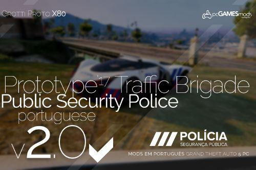 Portuguese Public Security Police - Concept Gotti Proto X80 [Add-On]