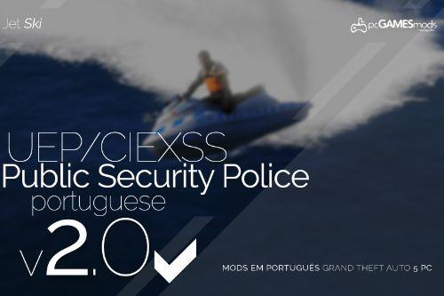 Portuguese Public Security Police JetSki + Trailer [Add-On]