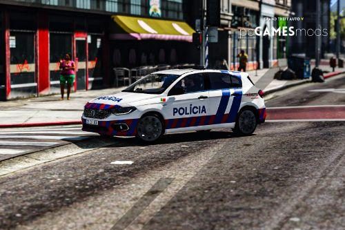 Portuguese Public Security Police - traffic brigade division - Fiat Tipo  [ AddOn / Replace ]