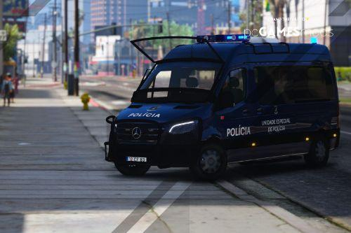 Portuguese Public Security Police UEP - Mercedes-Benz Sprinter 2019 [ AddOn / Refletive ]