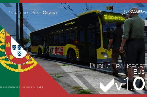 Portuguese Public Transport Bus Lisbon - Mercedes-Benz Citaro [Replace | Livery]