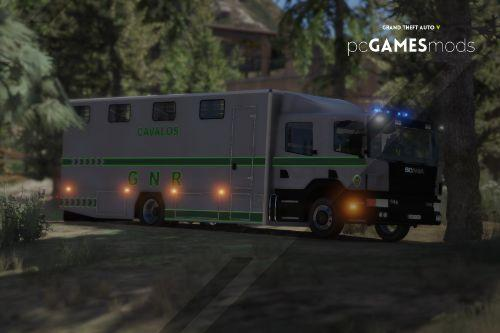Portuguese Republican National Guard - Cavalry Regiment - Scania CrewCab [ AddOn / Refletive ]