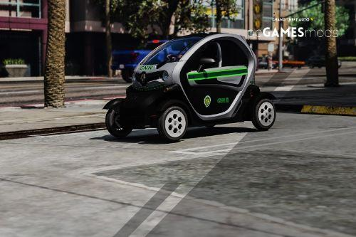 Portuguese Republican National Guard - Proximity Police Unit- Renault Twizy [ AddOn / Refletive ]