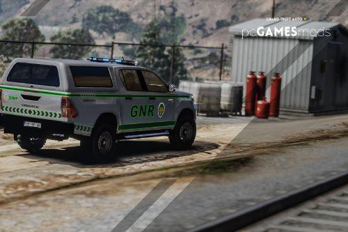 Portuguese Republican National Guard - Toyota Hilux [ AddOn / Refletive ]